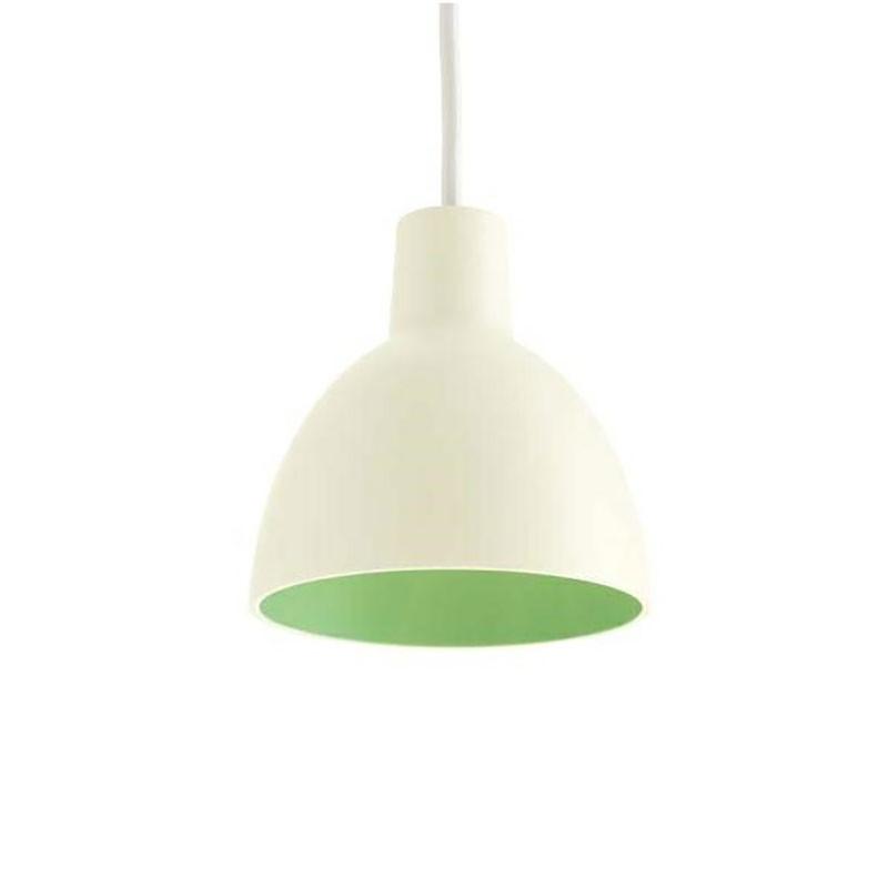 louis poulsen toldbod 120 white green udstillingsmodel. Black Bedroom Furniture Sets. Home Design Ideas