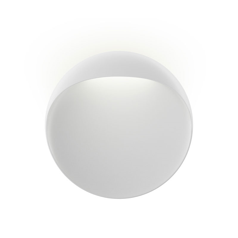Louis poulsen flindt væglampe hvid