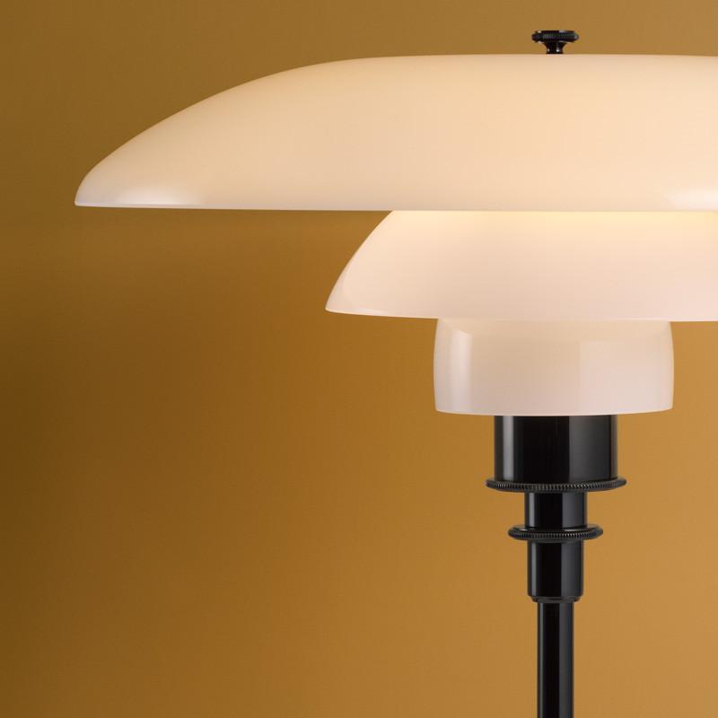 Louis Poulsen PH 2/1 Glas Bordlampe