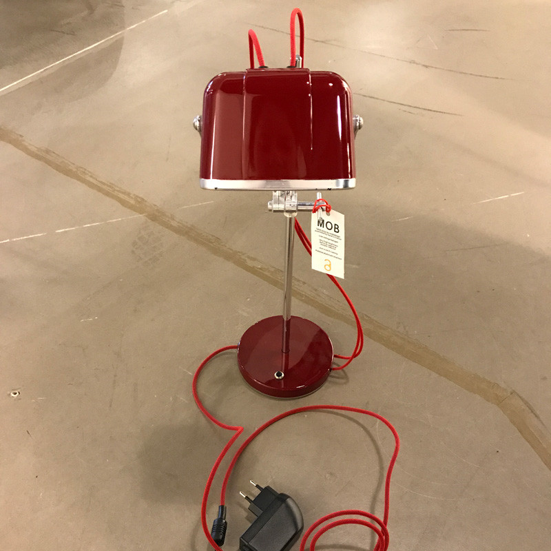 SwabDesign MOB Lampe Rød Udstillingsmodel