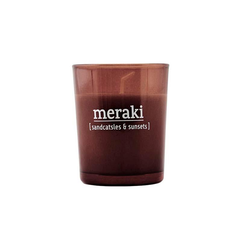 Meraki Meraki sandcastles & sunsets duftlys fra livingshop
