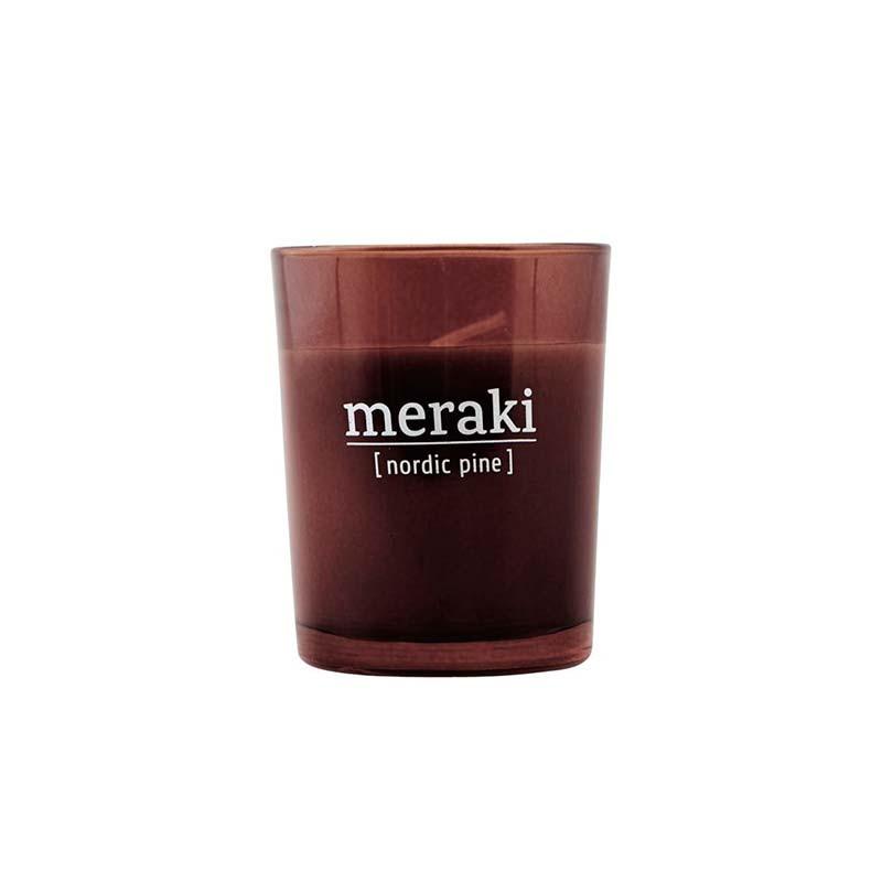 Meraki – Meraki nordic pine duftlys på livingshop
