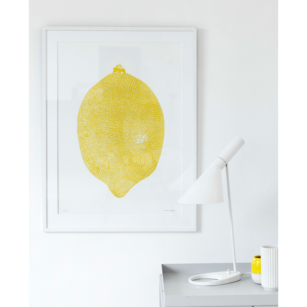 Image of   Monika Petersen Lemon Yellow Plakat