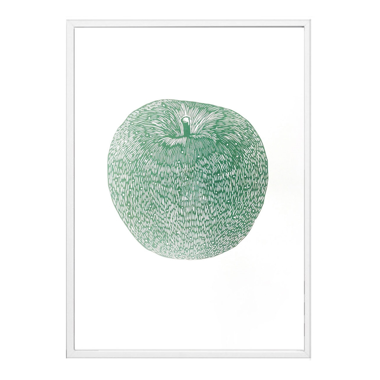 Image of   Monika Petersen Apple Green Plakat