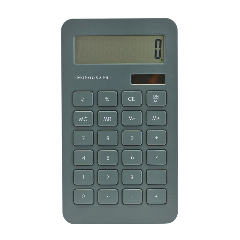 Image of   Monograph Calculator Dusty Green