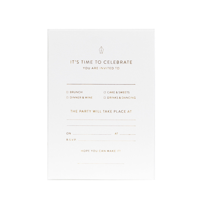 Image of   Monograph Invitation Note Cards