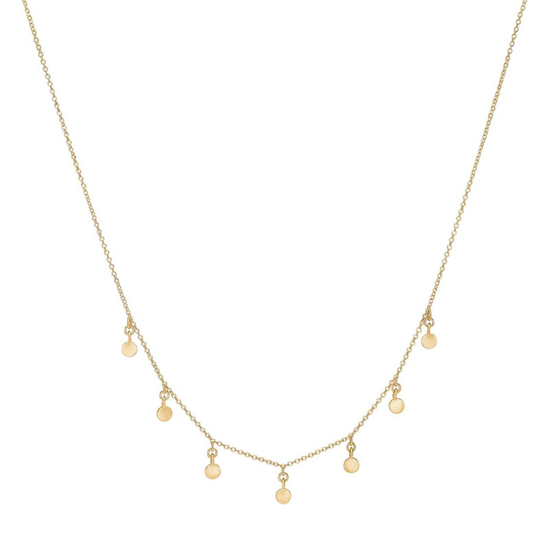 Image of   Enamel Copenhagen Raindrops Choker Gold-Plated