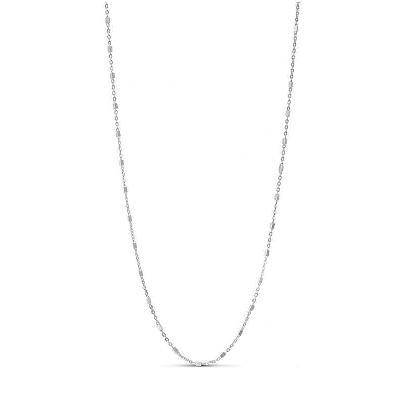 Image of   Enamel Copenhagen Elva Necklace Silver