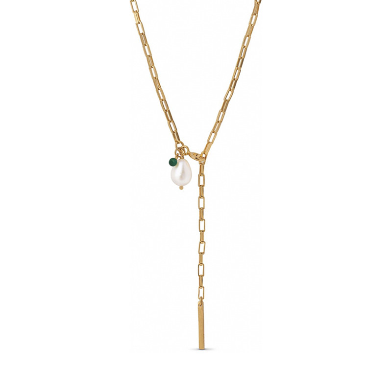 Image of   Enamel Copenhagen Azra Necklace Gold-Plated