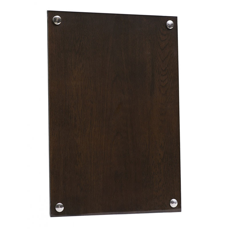 Image of   New Works A Frame Smoked Oak Ramme