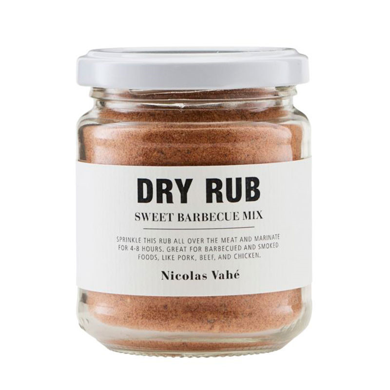 Nicolas vahé dry rub sweet barbecue mix