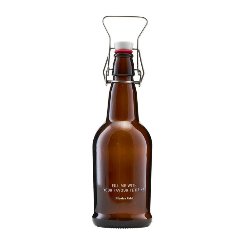 Nicolas vahé flaske patentlukning brun