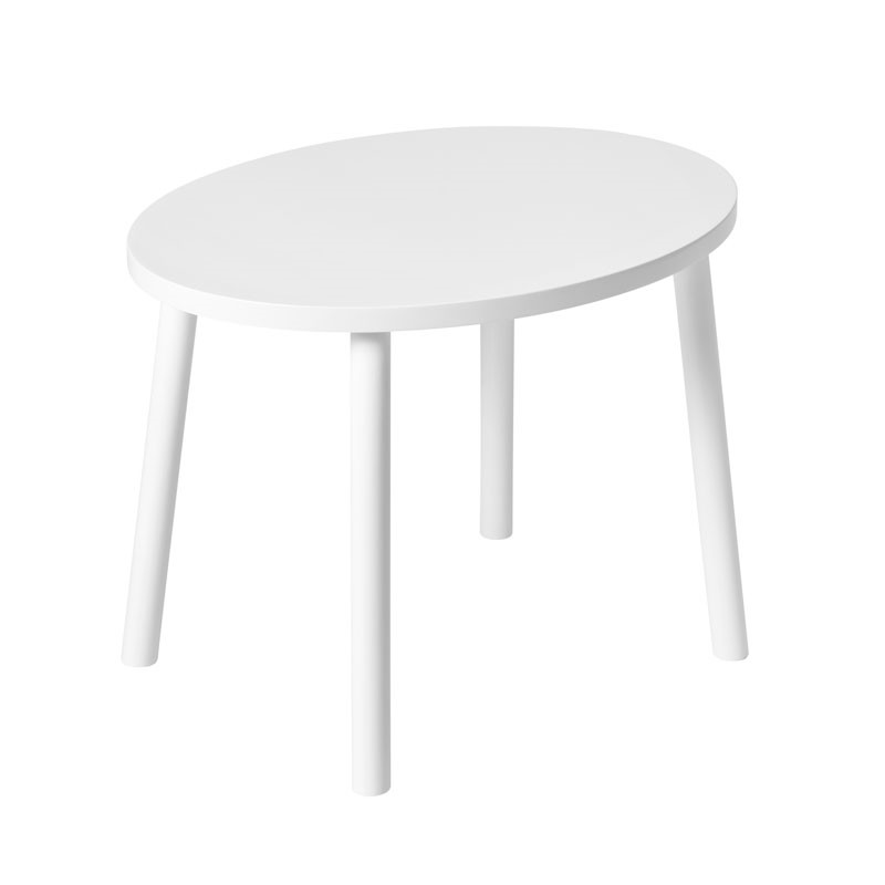 Nofred mouse table 2-5 years white