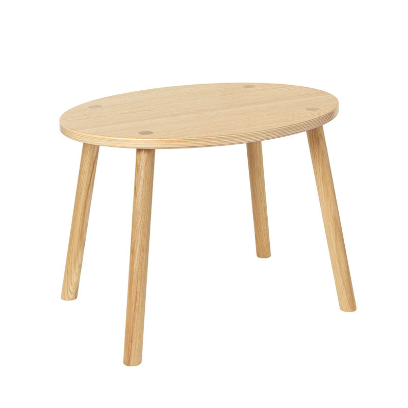 Nofred mouse table 2-5 years lacquered oak