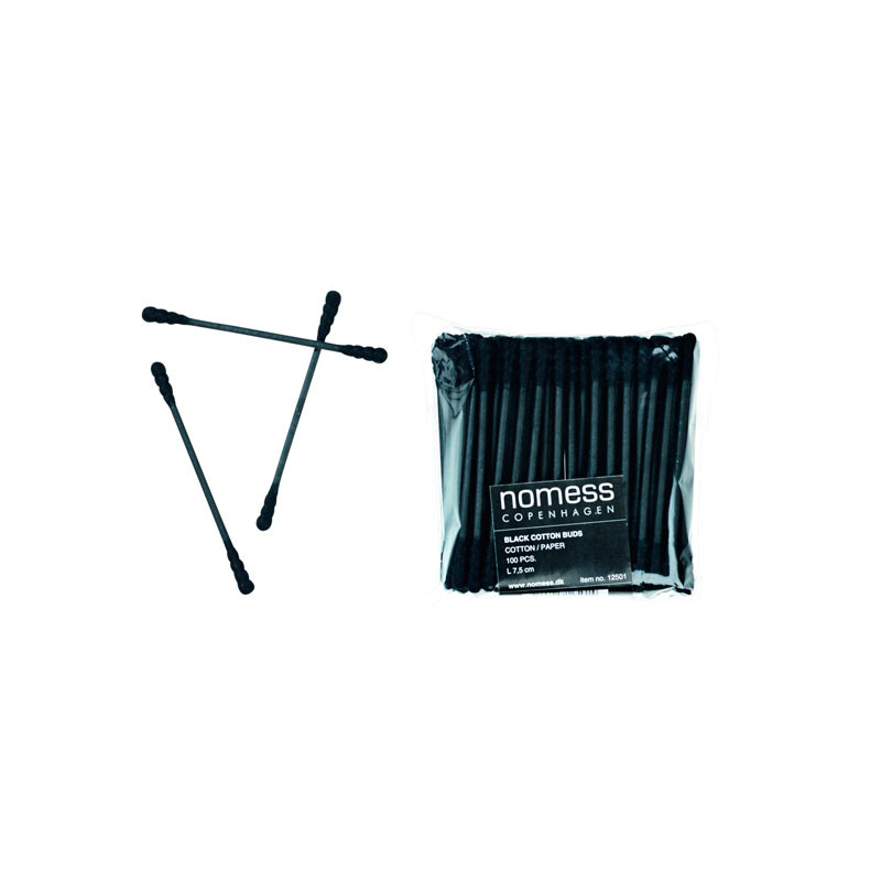 Nomess Nomess black cotton buds fra livingshop