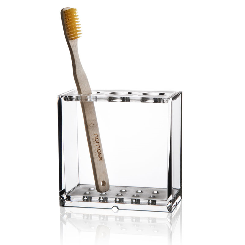 Image of   Nomess Clear Tooth Brush Holder