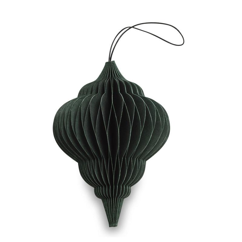Nordstjerne paper jewel forrest green