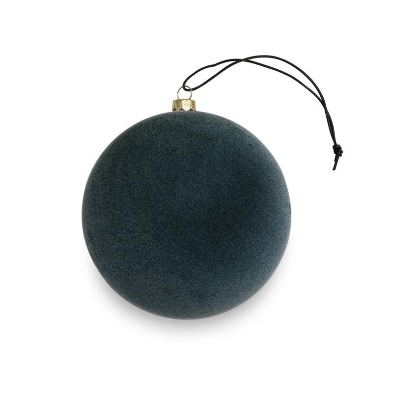 Nordstjerne velvety ornament pine green small