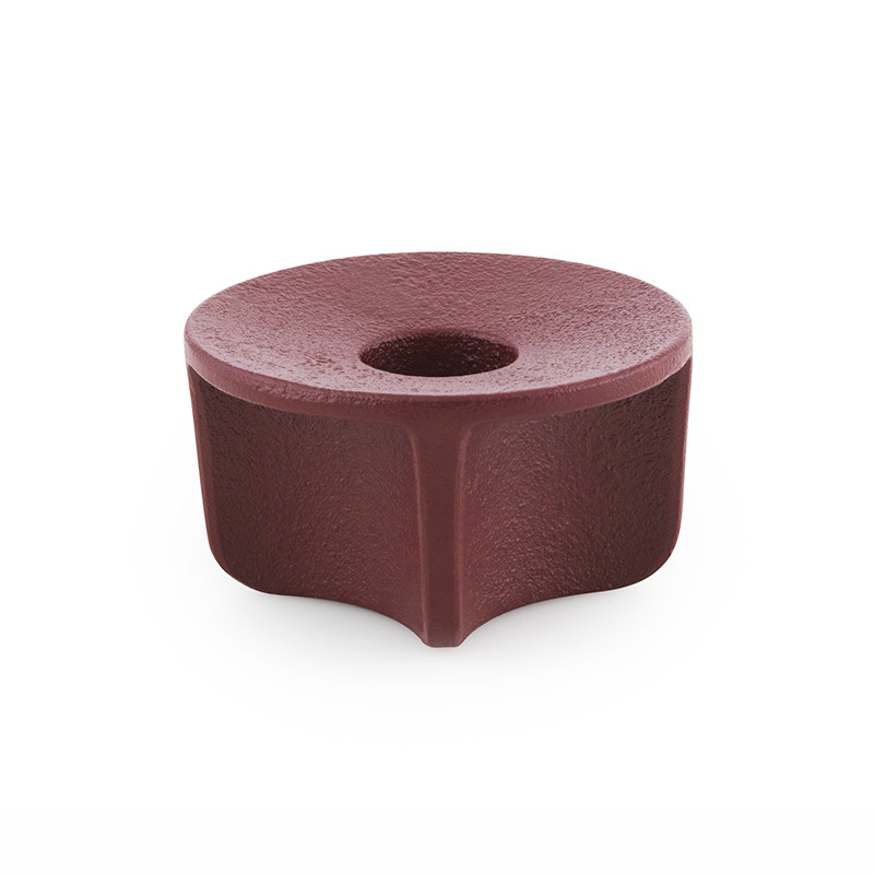 Image of   Normann Cph Fe Candlestick Dark Red