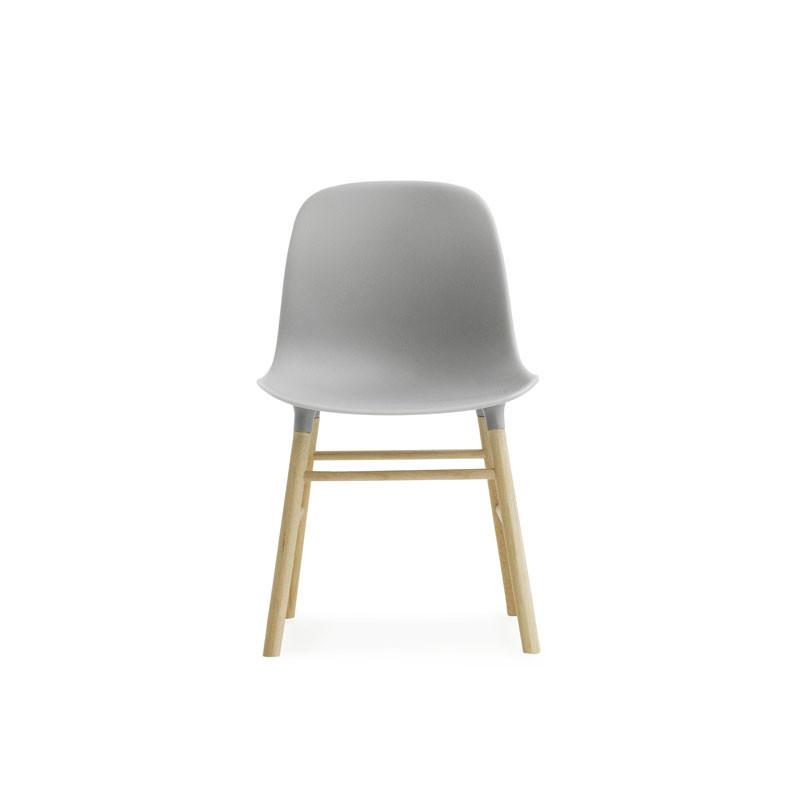Image of   Normann Cph Form Chair Miniature Grå