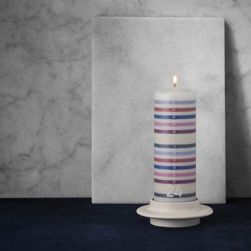 Image of   Normann Cph Heima Candle Holder Light Grey