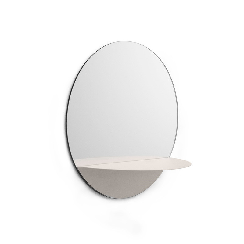 Image of   Normann Cph Horizon Mirror Round White