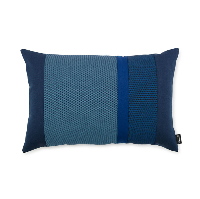Image of   Normann Cph Line Cushion Blue 40 x 60