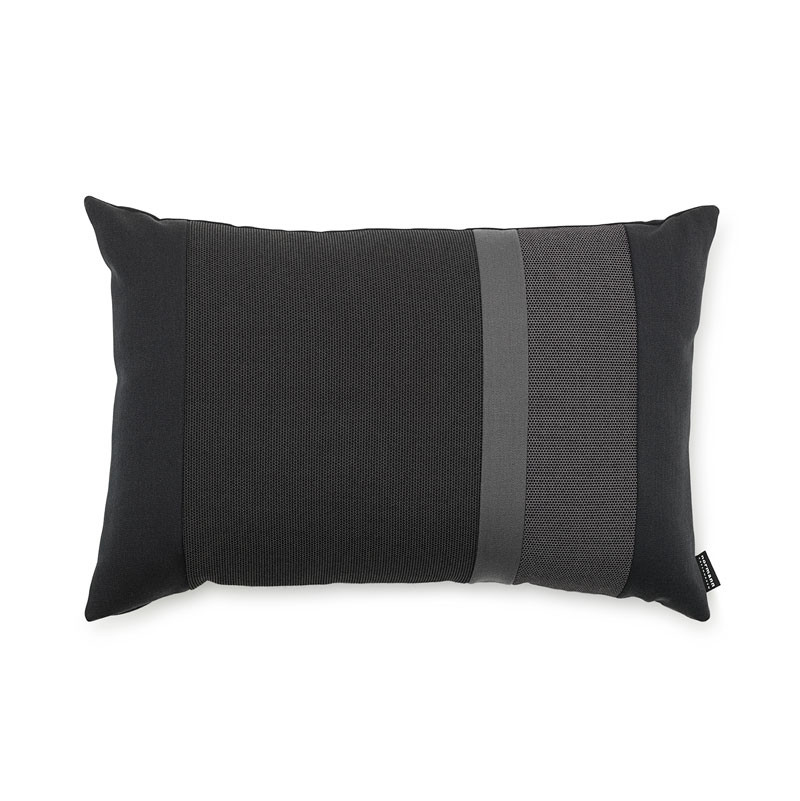 Image of   Normann Cph Line Cushion Dark Grey 40 x 60