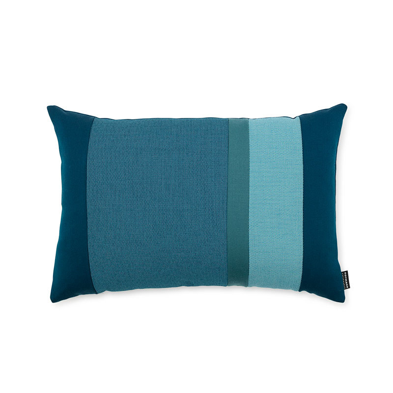 Image of   Normann Cph Line Cushion Turquoise 40 x 60
