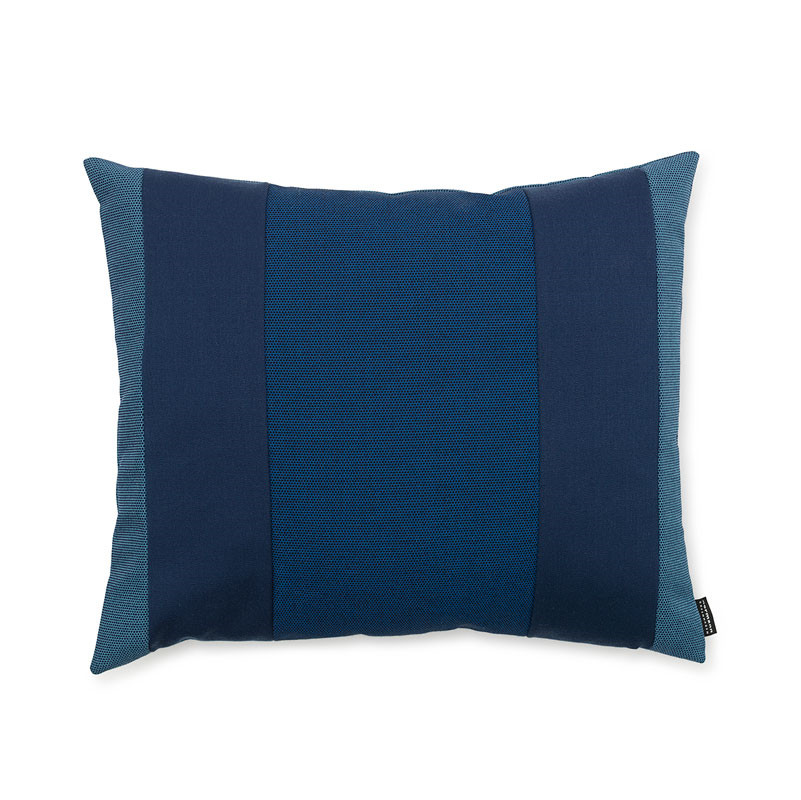 Image of   Normann Cph Line Cushion Blue 50 x 60