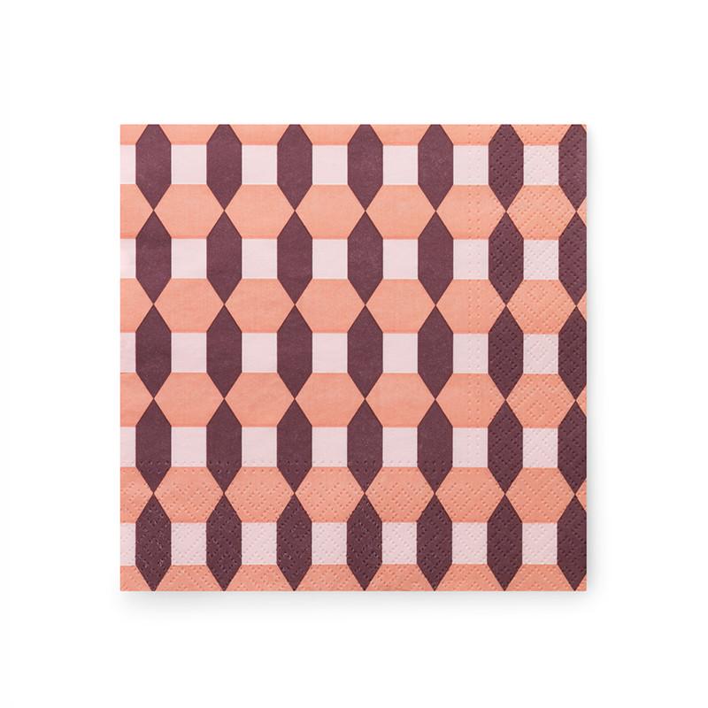 Normann cph paper napkin salute milan