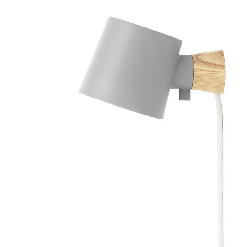 Normann cph rise wall lamp grey