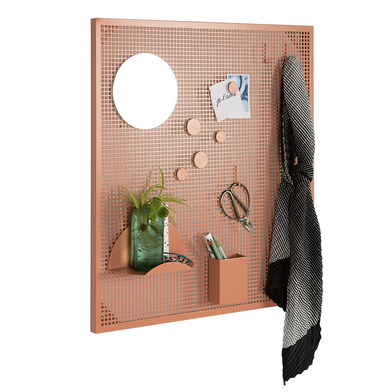 Ok design – Ok design tableau magnet tavle dusty peach på livingshop