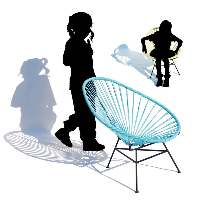 Ok design – Ok design acapulco chair mini på livingshop
