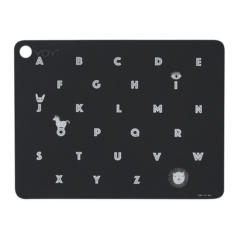 Image of   OYOY Alphabet Placemat