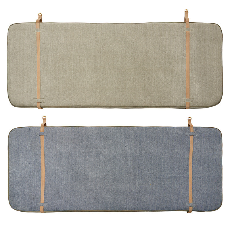OYOY Headboard Beige/Navy Blue