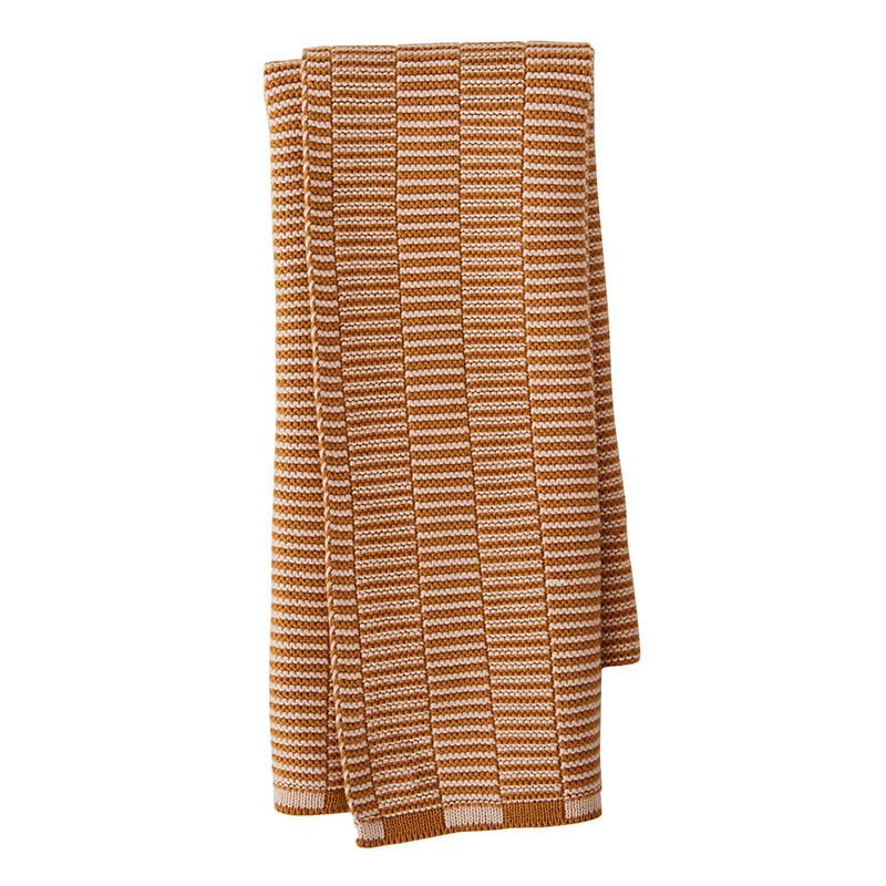 Oyoy stringa mini towel caramel/rose