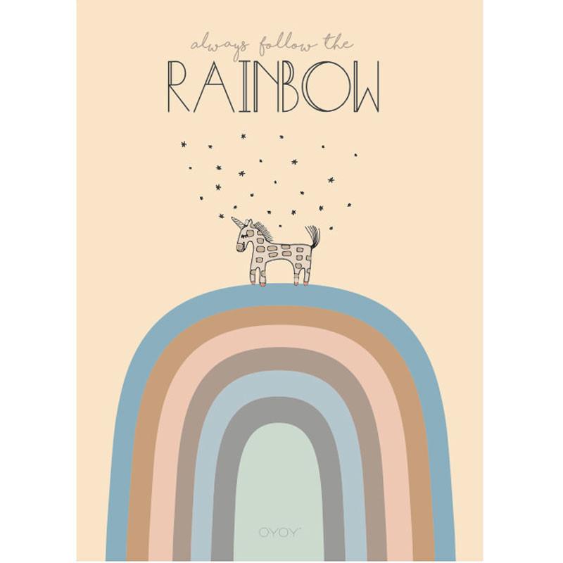 Image of   OYOY Rainbow Poster
