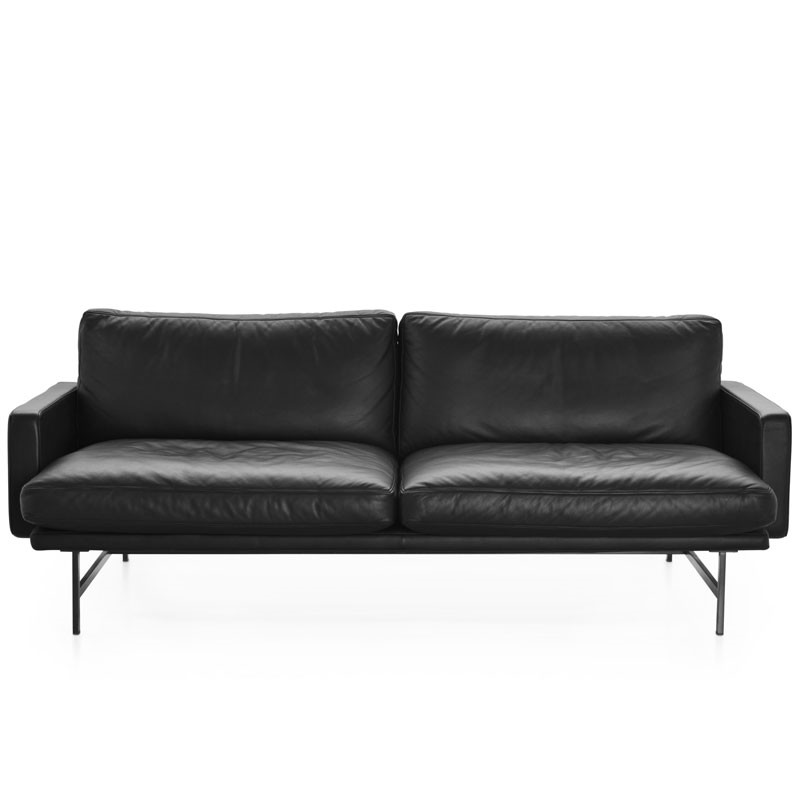 Fritz hansen pl112 lissoni sofa 2-pers læder