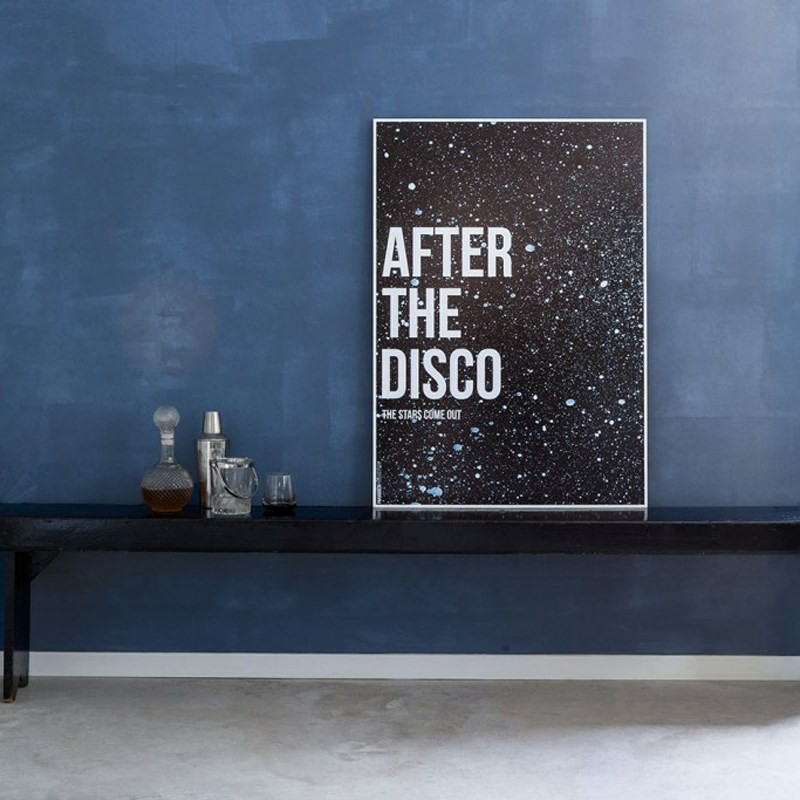Paradisco productions – Paradisco productions after the disco indrammet plakat på livingshop