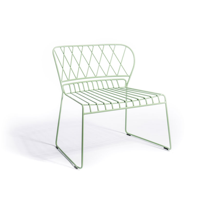 Skargaarden Resö Lounge Chair Light Green fra Skargaarden