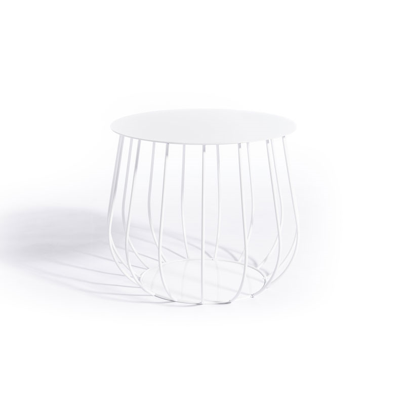Image of   Skargaarden Resö Lounge Table Straight Bars White