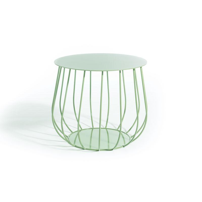 Skargaarden Resö Lounge Table Straight Bars Light Green fra Skargaarden
