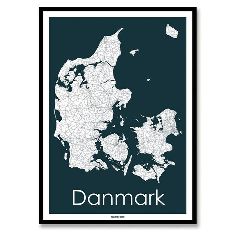 Rosenkvist design – Rosenkvist design danmark plakat på livingshop