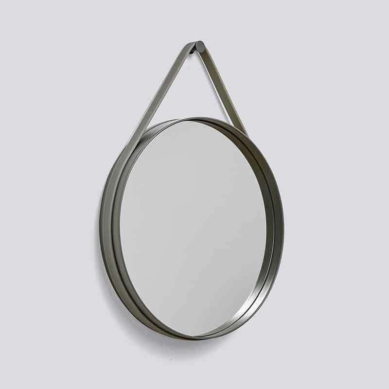 Image of   HAY Strap Mirror Ø50 Army