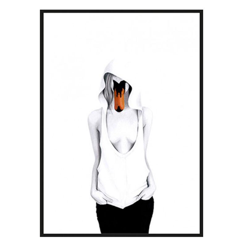 Sanna wieslander – Sanna wieslander swan lady plakat fra livingshop