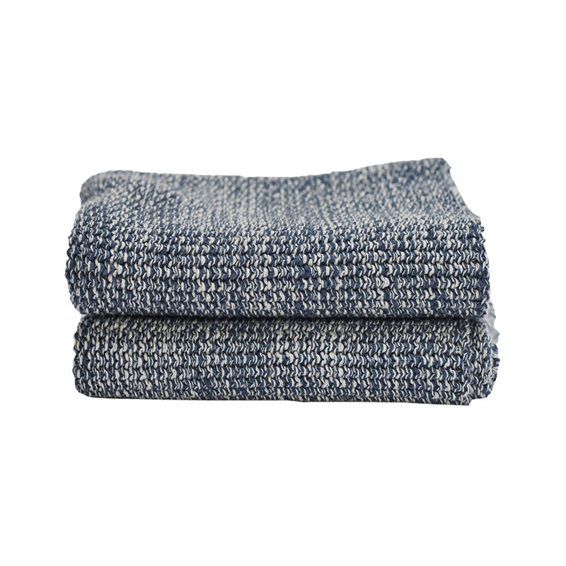 Image of   Semibasic HAND Knit Towel Blue