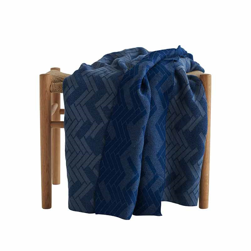 Image of   Semibasic HIDE Blanket Dusty Blue