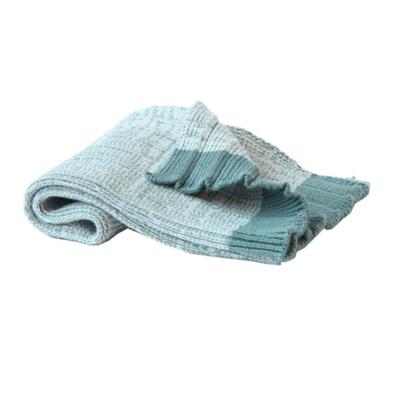 Image of   Semibasic Hand Plissé Knit Towel Green