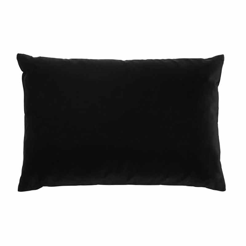 Image of   Semibasic LUSH Velour Cushion Black Ink 40 x 60